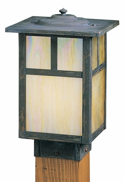 Arroyo Craftsman MPC-7 Mission Craftsman Outdoor Light Post - 7 inches wide