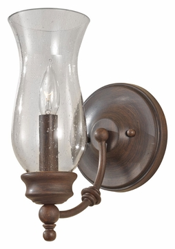 Feiss WB1597HTBZ Pickering Lane Heritage Bronze Finish 10 Inch Tall Sconce Lighting