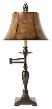 Uttermost 26628 Romina Swing Arm Table Lamp