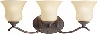 Kichler 5286-OZ Wedgeport Olde Bronze 3-Light Bath Vanity