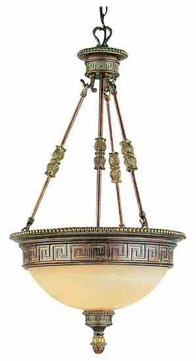 Trans globe cuzco mediterranean antique style pendant for Mediterranean lighting fixtures