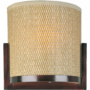 ET2 E95088 Elements Large 2-light Contemporary Wall Sconce with Three Shade Choices