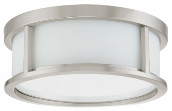 Nuvo 603811 Odeon ES 13  Ceiling Lamp in Brushed Nickel
