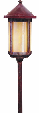 Arroyo Craftsman LV18-B6L Berkeley Outdoor Low Voltage Landscape Light - 29.125 inches tall