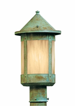 Arroyo Craftsman BP-6 Berkeley Outdoor Lighting Post - 9.25 inches tall
