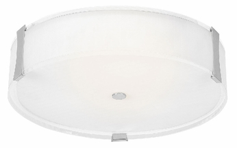 Access 50121 Tara 3 Light 18 inches wide Halogen Flushmount Ceiling Fixture