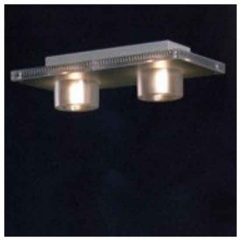 Zaneen D23017 Maia 2-light Contemporary Style Semi-Flush Ceiling Light