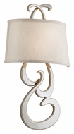 Corbett 172-12 Day Dream Contemporary 22 Inch Tall Wall Sconce Lighting - Champagne Silver Leaf