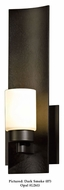 Hubbardton Forge 207790 Eddy 12 Inch Tall Halogen Wall Lighting With Finish Options