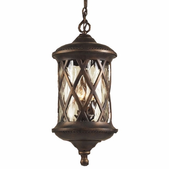 ELK 42033-3 Barrington Gate Outdoor Hanging Ceiling Lantern