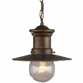 ELK 42007-1 Maritime Nautical Outdoor Hanging Ceiling Light