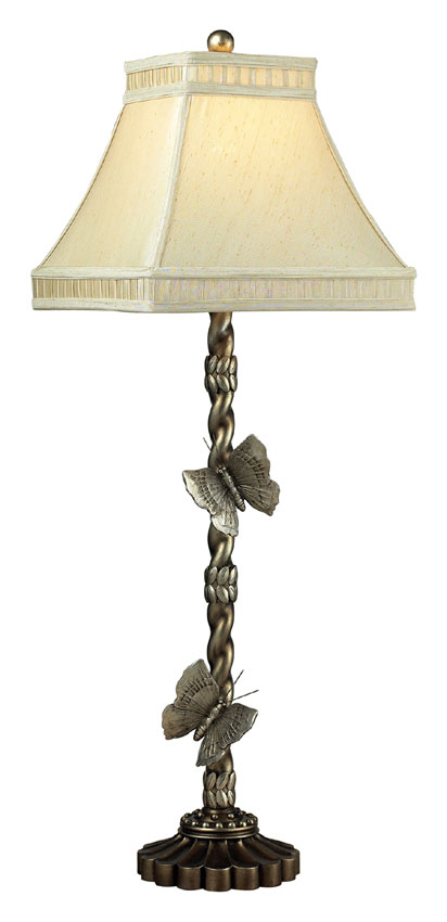 Dimond 93 9107 Wolcott Lake 36 Inch Tall Butterfly Table Lamp