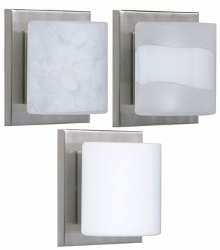 Besa 1WS7873 Paolo ADA-Compliant Rounded Contemporary Wall Sconce