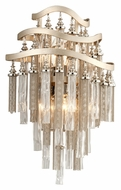 Corbett 176-13 Chimera Large Crystal 17 Inch Tall Wall Sconce Lighting Fixture