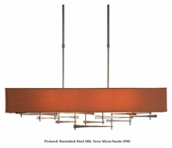 Hubbardton Forge 137670 Cavaletti Contemporary Fabric Shade Island Lighting - 42 Inches Wide