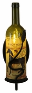 Meyda Tiffany 140910 Tuscan Vineyard Personalized Wine Bottle Wall Sconce - 13 Inches Tall