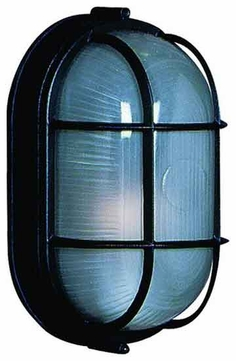 Artcraft AC5662 Small Oval Nautical Style Outdoor Wall Sconce - ART-AC5662