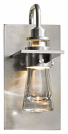 Hubbardton Forge 207750 Erlenmeyer Vintage Platinum 9 Inch Tall Small Wall Light