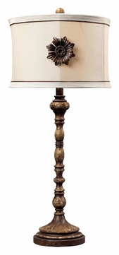 dimond 93 10018 ponca 32 inch tall gramercy living room table lamp dim 93 10018. Black Bedroom Furniture Sets. Home Design Ideas