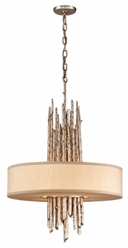 Troy F2895 Adirondack Rustic Large Trees 4-light Pendant Light