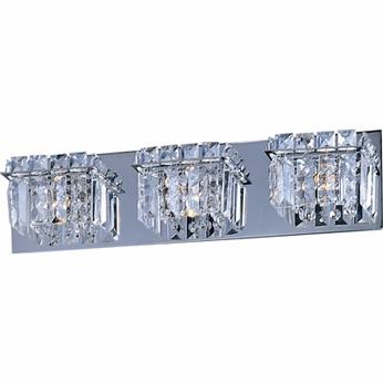 Bathroom Vanity Lights With Crystals : ET2 E2325320PC Bangle 3-light Crystal Bathroom Vanity - ET-E2325320PC