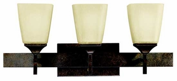 Kichler 5316MBZ Souldern 3-Lamp Vanity Light