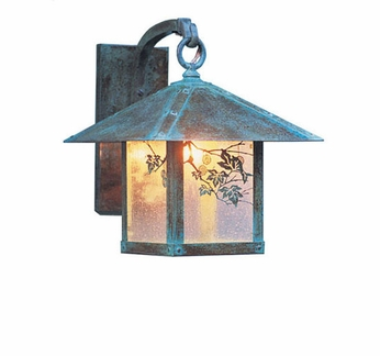 Arroyo Craftsman EB-7 Evergreen Craftsman Outdoor Wall Sconce - 10.5 inches tall