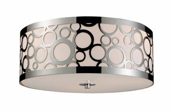 ELK 310243 Retrovia Modern Flush Mount Ceiling Light Fixture