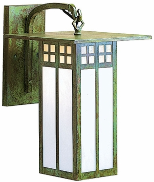 Arroyo Craftsman GB-18L Glasgow Craftsman Outdoor Wall Sconce - 30 inches tall