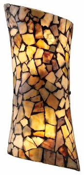 ELK 600162 Trego Art Glass Wall Sconce