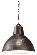 Kichler 78200 Missoula Bronze 13 Inch Diameter Pendant Lighting With Fluorescent Option