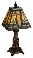 Meyda Tiffany 142878 Sierra Prairie Mission 12 Inch Tall Tiffany Lamp