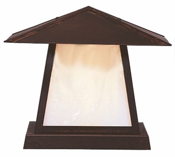 Arroyo Craftsman CC-12 Carmel Craftsman Outdoor Pier Mount - 12 inches wide