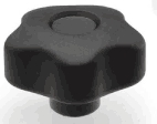 "2"" O.D. Lobed Turn  Knob - (3/8-16 Female Thread)"