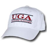 UGA Bar Hat by The Game - White
