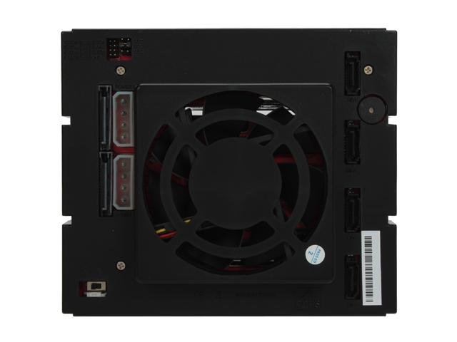 BP-SAC3141B Hot-Swappable 4 Hard Drive SATA/SAS Combo Raid Cage