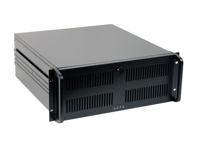 "CC-500-CA 18.5"" Short Depth Steel 4U RackMount Computer Case"