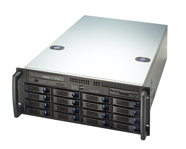 Chenbro RM41416 4U 16 Bay 6Gb/s mini-SAS HotSwap Trays Rackmount  Case