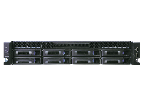 Chenbro RM23508 2U Modular Storage chassis 8-Port  Mini-SAS Backplane