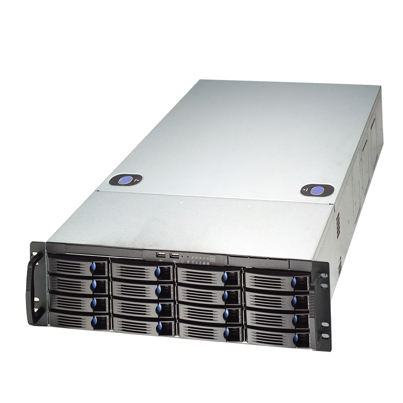 Chenbro RM31616 3U 16-Bay High Density Storage Server Chassis