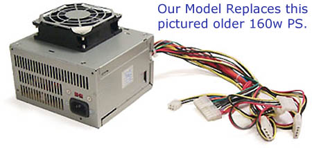 Gateway ATX12V Power Supply 300w 120mm For Part Number 6500611