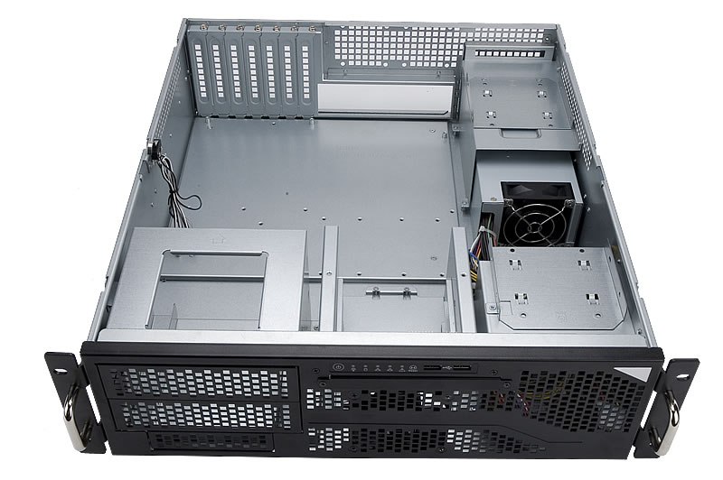 IN-WIN IW-R300 3U Rackmount Case with 500W 80 Plus Power Supply