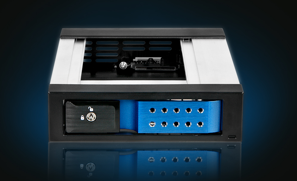 iStarUSA BPN-DE-110 SATA III Trayless Hot-Swappable Removable HD Cage