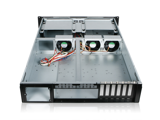 iStarUSA RG-2210 eATX Rugged Industrial 2U 26 in. Deep Rackmount Case
