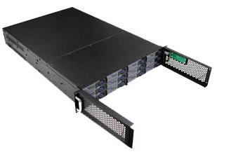 RM-2290U320 2U 12 SCSI HD Trays Rackmount Case, 500w Power Supply