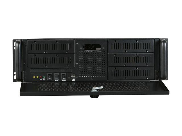 "RM-3055 3U Rackmount Case 5 Open 5.25"" Bays and 320W Power Supply"
