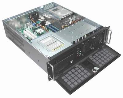 RM-3130 10+1 Total Bay 3U Rack Mount Case GHI-313