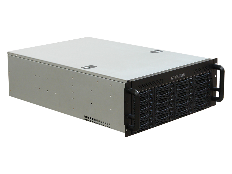 RM-4020 4U Rackmount Case with 20 SATA Hot-Swappable Trays