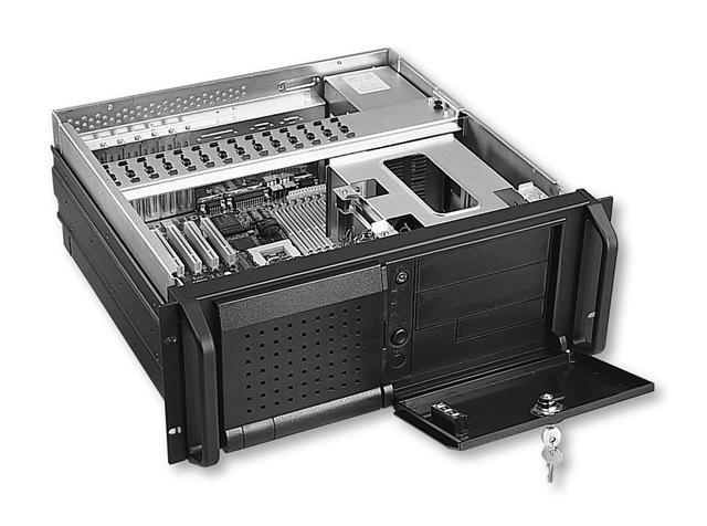 RM-4400 4U Rackmount Short Server Computer Case 16.8