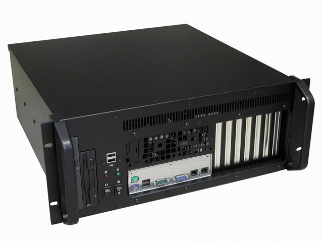 "RM-44F1 4U Front I/O 17.6"" Deep EATX MB Rackmount Chassis"